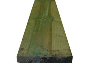 FENCING TIMBER 150mm x 19mm  x 1800mm